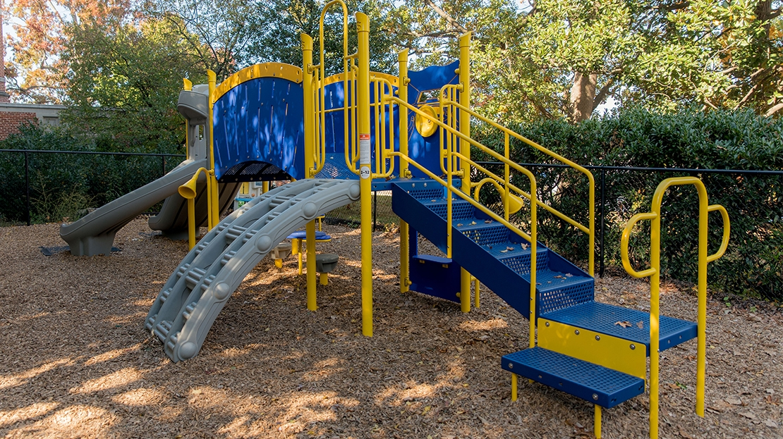 pre-school playground new vista school virginia