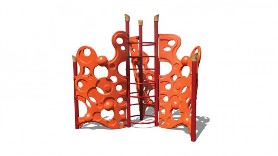 bubble storm playground climber