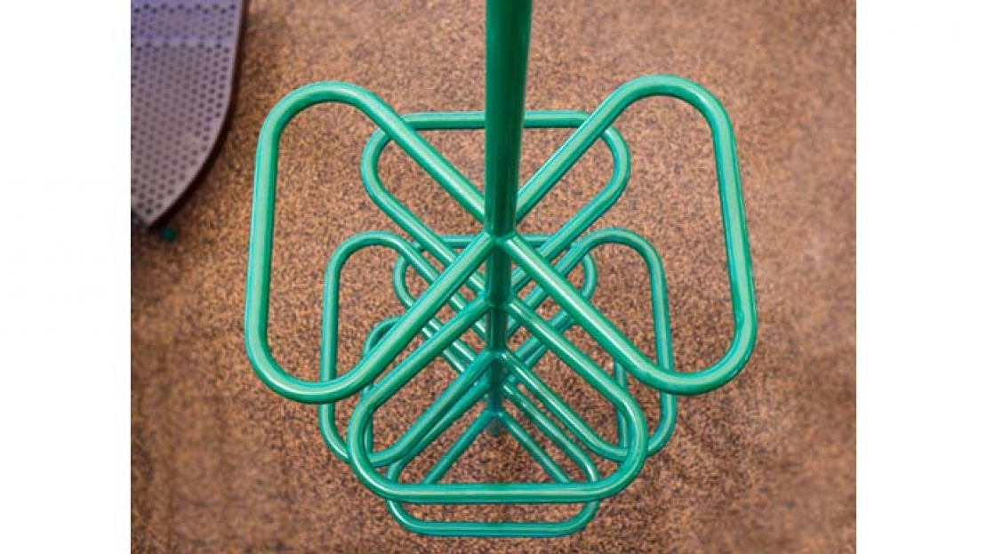 picture of clover climber for playground