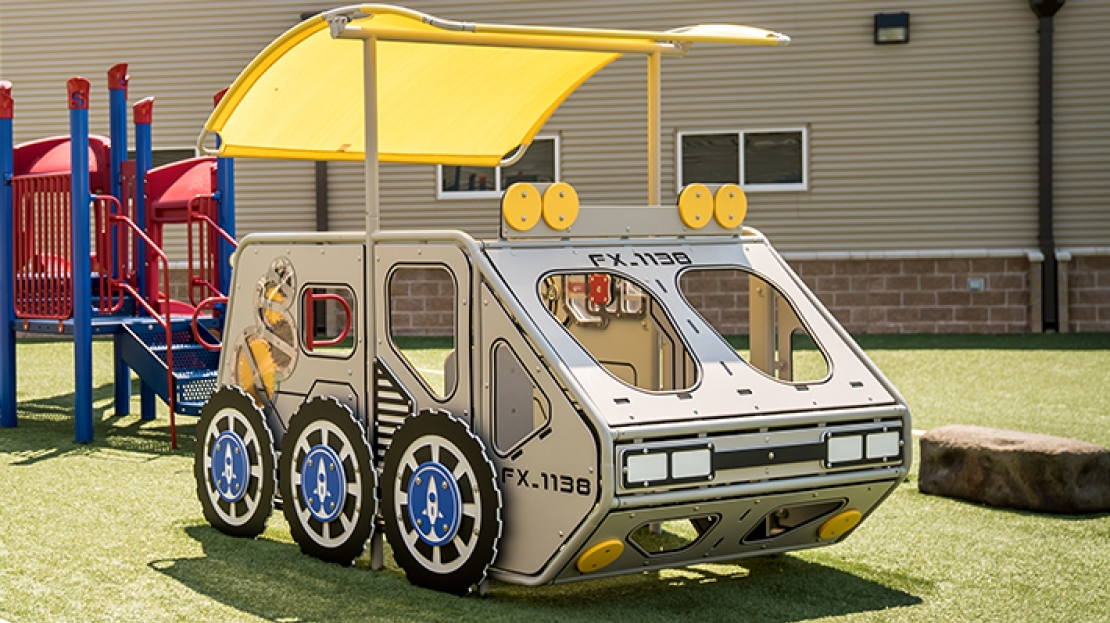 lunar rover space playground equipment