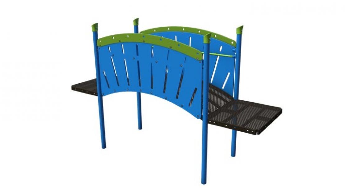 arch bridge commercial playground equipment