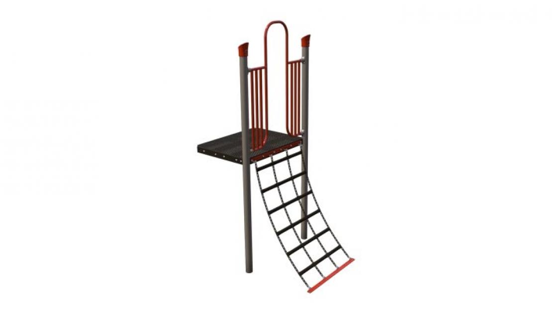playground cargo net climber