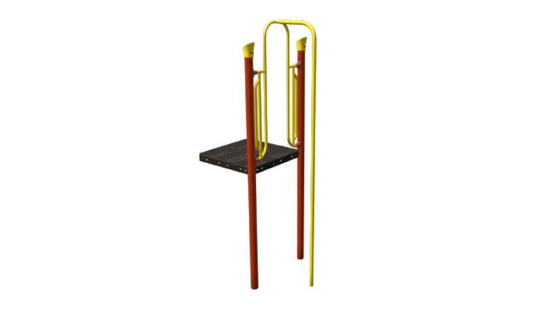 sliding pole playground component