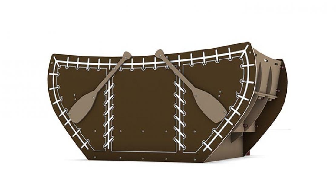 playground boat rocker
