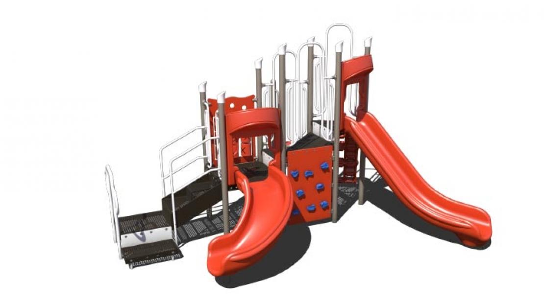 playground for children 2-12 years old