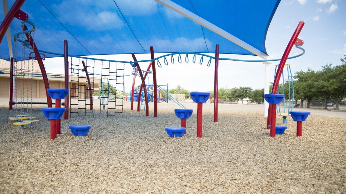 Playground Step Stones