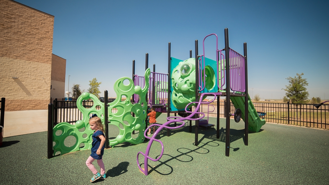Colorful Playground Design