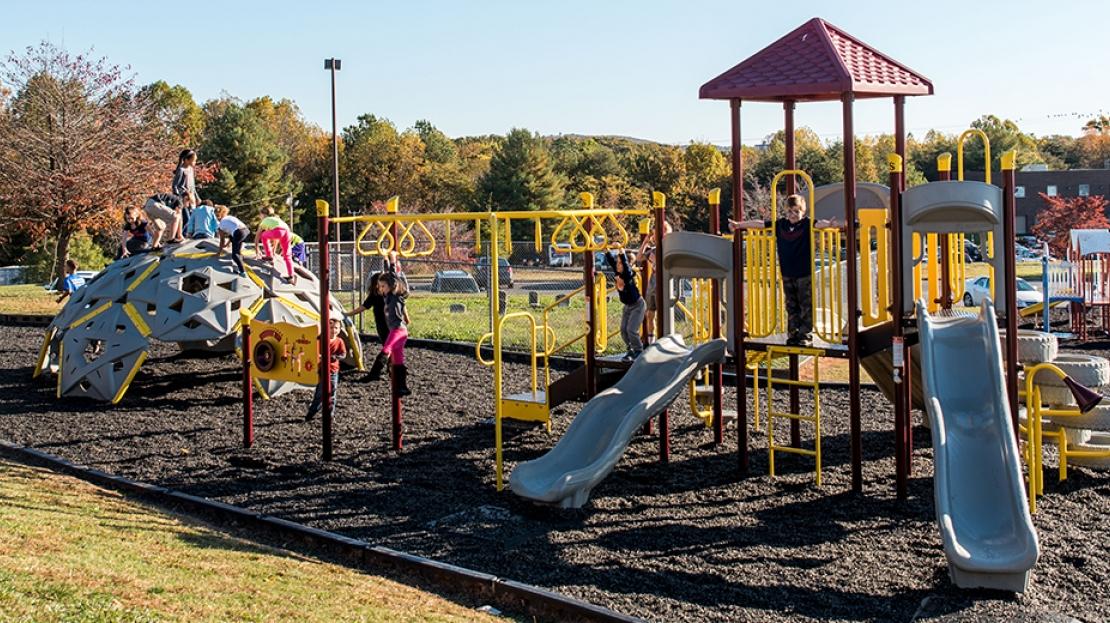 Leesville-Road-School-Playground
