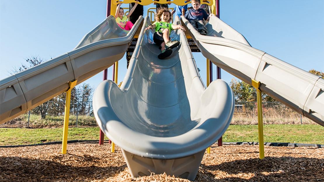 Elementary-School-Playground-Slide