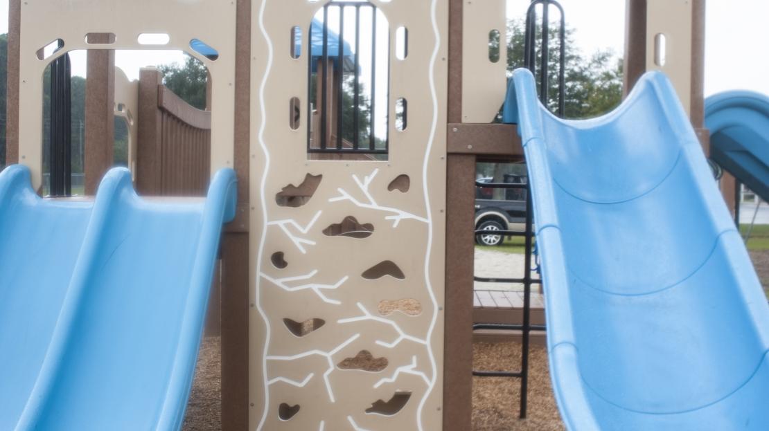 Blue Slides for Children