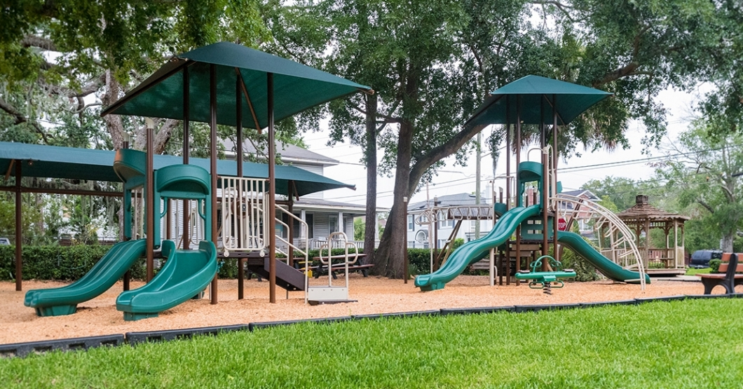 age-appropriate playground in florida