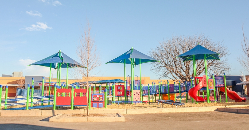 school playground in new mexico
