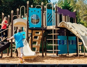 school playground at shoal creek adventist school