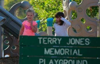 kids on texas playground