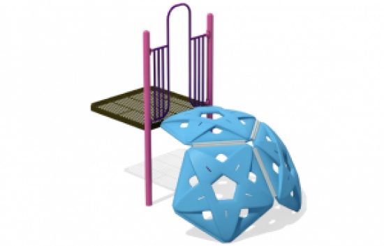 3x pentagon playground climber