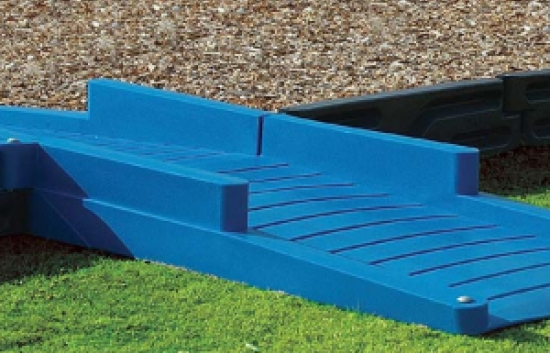 ADA commercial playground ramp