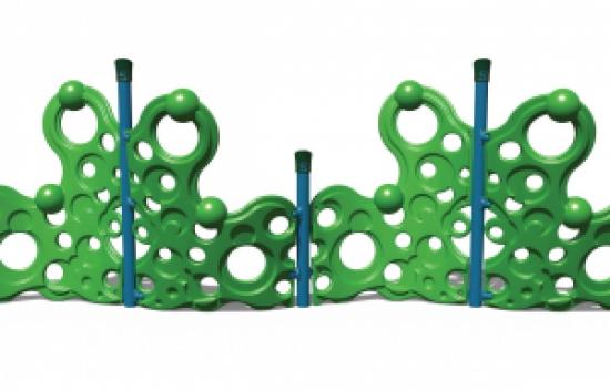 playground bubble wall climber