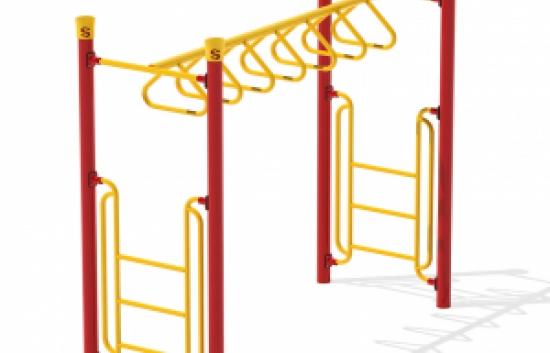 rung overhead bars