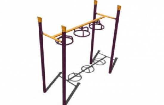 three wheel swinger overhead bars