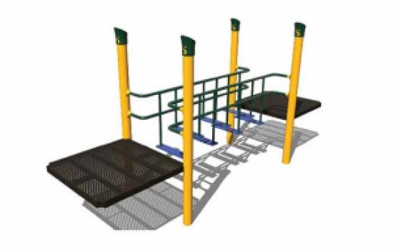 challenge bridge playground component