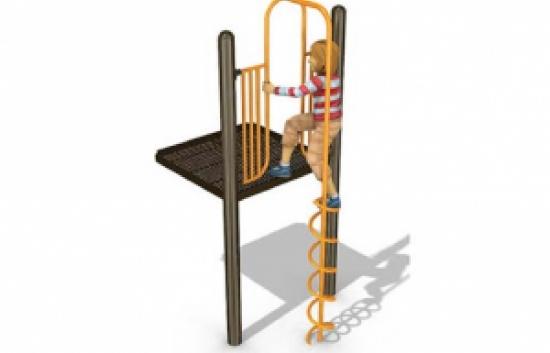 playground coil climber