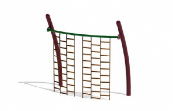 curved climbing wall commercial playground equipment