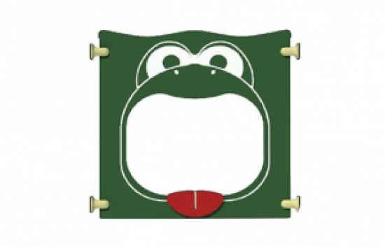 Frog Crawl Through Panel for commercial playground equipment