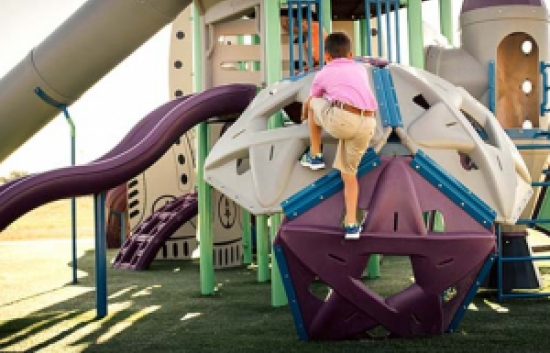 greathouse park playground pentagon climber
