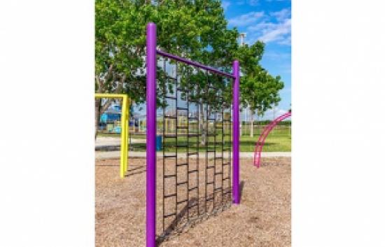 playground climbing wall