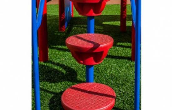 playground lily pad climbers