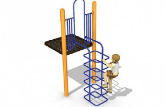man hole climber for playgrounds