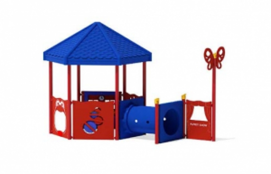 infant playground with roof