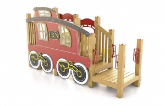 train caboose playground