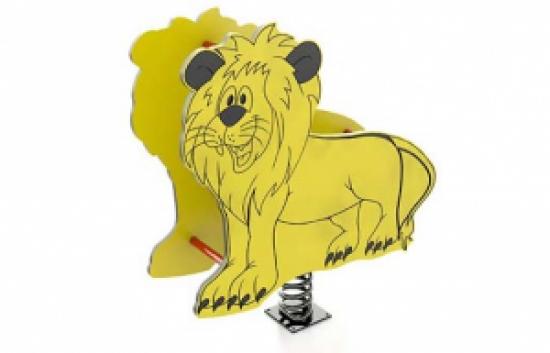lion playground spring rider