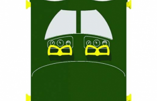 airplane panel for commercial playground equipment