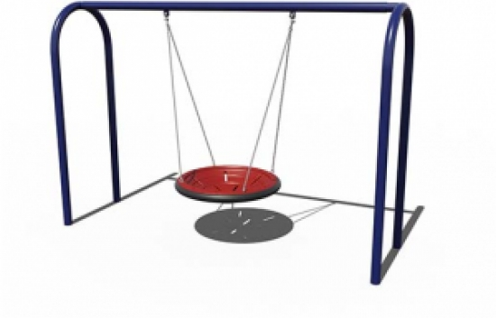 Arched Frame and Team Seat Swing