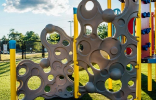 bubble playground climber
