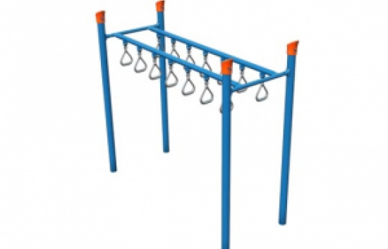 overhead ladder playground component