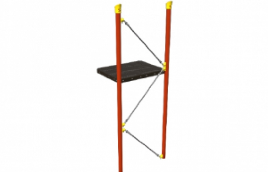 single strand net climber