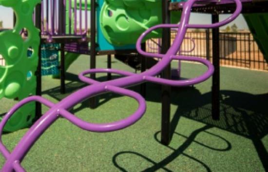 snake playground climber