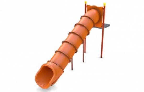 straight tube slide
