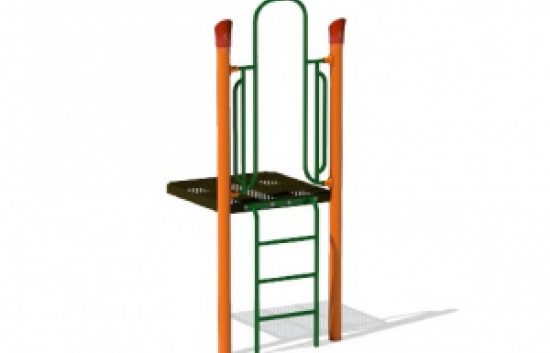 vertical ladder playground climber