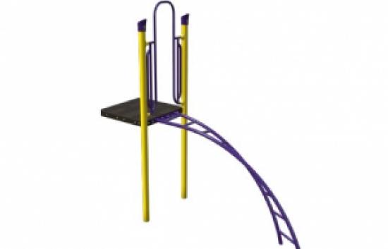 zany playground climber