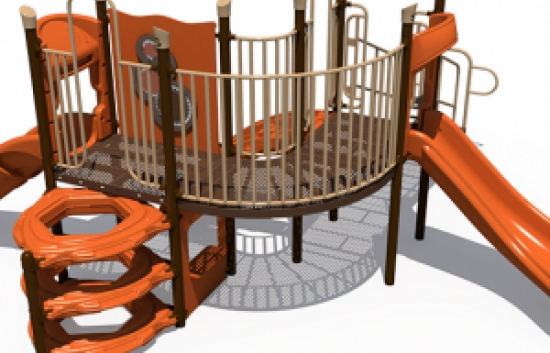 small playground structure