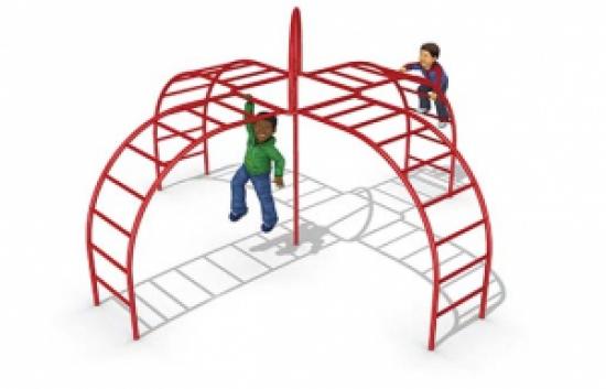 fire station playground climber