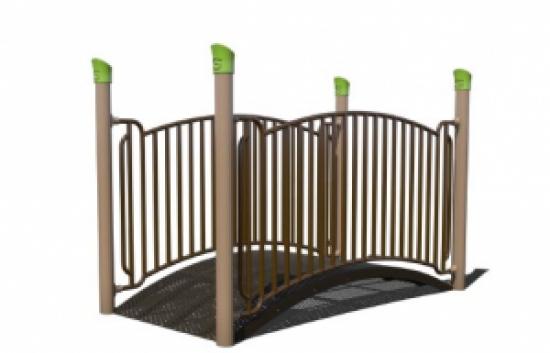 arch playground bridge