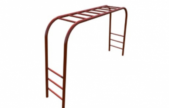 small overhead playground ladder