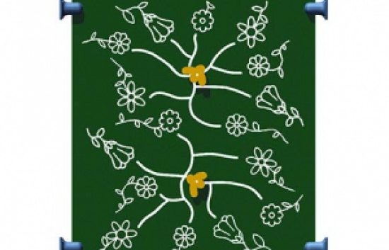 honey bee panel for commercial playground equipment