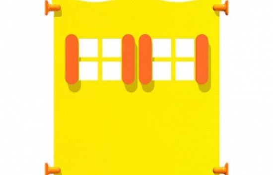 window panel for commercial playground equipment