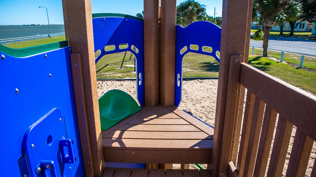 Playground Decking